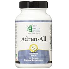 (FROM USA) Ortho Molecular Products Adren-All Capsules, 120 Count