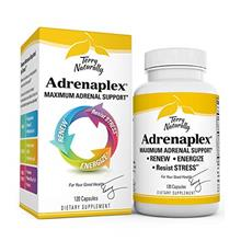 (FROM USA) Terry Naturally Adrenaplex - 120 Capsules - Maximum Adrenal Support