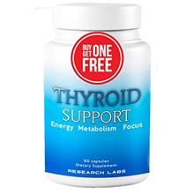 (FROM USA) Research Labs Thyroid Support Supplement + Iodine – BUY 1 GET 1 F