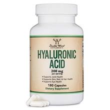 (FROM USA) Hyaluronic Acid Supplement -180 Capsules (Enhances Effects of Hyalu