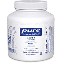 (FROM USA) Pure Encapsulations - MSM Capsules - Hypoallergenic Supplement Supp