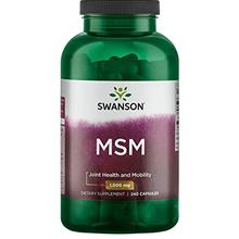 (FROM USA) Swanson Msm 1000 Milligrams 240 Capsules