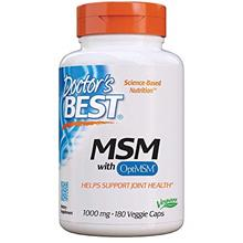 (FROM USA) Doctor's Best MSM with OptiMSM, Joint Support, Immune System, Antio