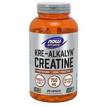 (FROM USA) NOW Sports Nutrition, Kre-Alkalyn Creatine 750 mg, Mass Building*/E