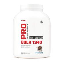 (FROM USA) GNC Pro Performance Bulk 1340 - Cookies and Cream, 9 Servings, Supp