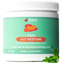 (FROM USA) Yuve Gut Health Restore for Leaky Gut Repair Supplement - Vegan  &