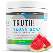 (FROM USA) Truth Nutrition Vegan BCAA Powder- 2:1:1 Ratio All Natural Branched