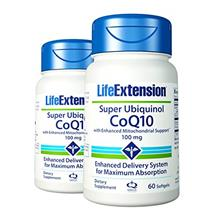 (FROM USA) Life Extension Super Ubiquinol Coq10 with Enhanced Mitochondrial Su