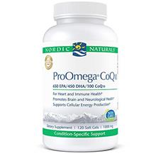(FROM USA) Nordic Naturals ProOmega CoQ10 - Fish Oil, 650 mg EPA, 450 mg DHA,