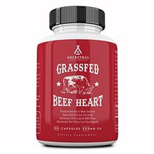 (FROM USA) Ancestral Supplements Grass Fed Beef Heart (Desiccated) — Natural