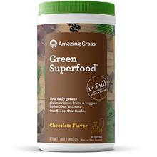 (FROM USA) Amazing Grass Green Superfood: Super Greens Powder with Spirulina,