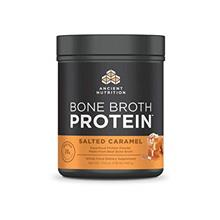 (FROM USA) Ancient Nutrition Bone Broth Protein - Salted Caramel, Beef Bone Br