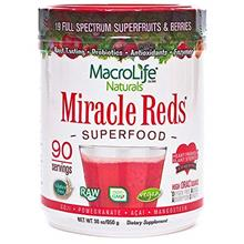 (FROM USA) MacroLife Naturals Miracle Reds Superfood – Elderberry Plus 19 No