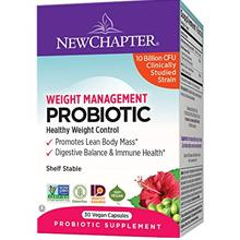(FROM USA) New Chapter Weight Management probiotic, 30 Count