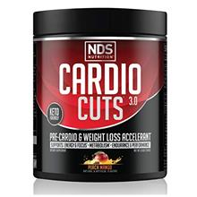 [USAmall] NDS Nutrition Cardio Cuts 3.0 Pre Workout Supplement - Advanced Weig