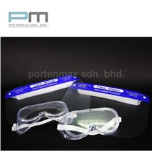 2+2 FACE SHIELD FULL PROTECTION & Protective Eyewear Safety Goggles