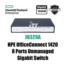 HP OfficeConnect 1420 8-Port Gigabit Switch (JH329A)