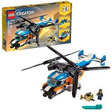 >...<7 LEGO Creator 3in1 Twin Rotor Helicopter 31096 Building Kit (569 Pieces)