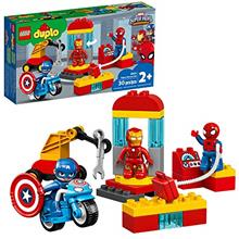 >...<7 LEGO DUPLO Super Heroes Lab 10921 Marvel Avengers Superheroes Construct