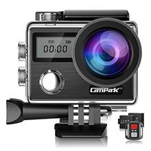 [USAmall] Campark X20 4K Action Camera 20MP with EIS Touch Screen Remote Contr