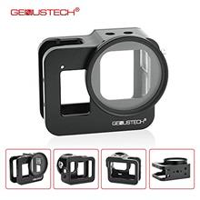 [USAmall] Genustech Cage for GoPro Hero 8 Black Action Camera, Aluminum Alloy