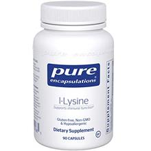 [USAmall] Pure Encapsulations - l-Lysine - Hypoallergenic Supplement Helps Mai