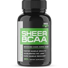 [USAmall] Sheer Strength Labs BCAA Capsules - Extra Strength 1,950mg Branched
