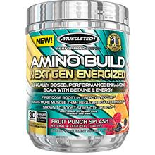 [USAmall] MuscleTech Amino Build Next Gen Energy Supplement, Formulated with B