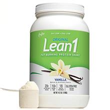 [USAmall] Lean 1 Vanilla Fat-Burning protein Shake by Nutrition 53, Lactose  &