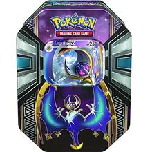 Pokémon TCG: Sun  & Moon - Legends of Alola Tin with Lunala-GX | Includes 4 P