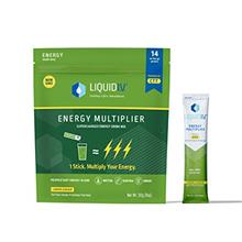 [USAmall] Liquid I.V. Energy Multiplier, Super-Charged Matcha Mix, 9 Essential