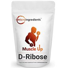 [USAmall] Pure D Ribose Powder, 1 KG (2.2 Pound), Powerfully Supports Energy a