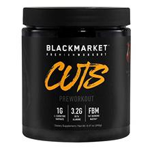 [USAmall] BLACKMARKET CUTS Pre Workout, Fruit Punch, 30 Servings, 240g
