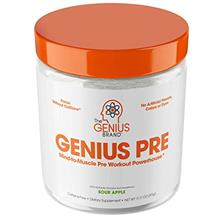 [USAmall] Genius Pre Workout Powder – All Natural Nootropic Preworkout  & Ca