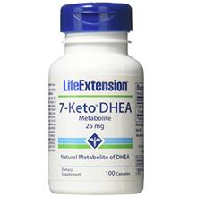 [USAmall] Life Extension - 7-Keto DHEA Metabolite 25 mg 100 caps (Pack of 2)