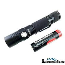 WOWTAC ATACTICAL A1 CREE XP-G2 CW LED 550L Rechargeable Flashlight