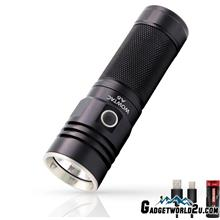 WOWTAC A5 CREE XHP70 CW LED 3650L Rechargeable Flashlight