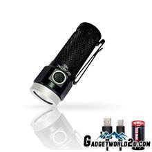 WOWTAC W1 CREE XP-G2 CW LED 562L Rechargeable Flashlight