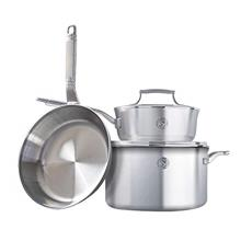 ..// SAVEUR SELECTS 5-piece Tri-ply Stainless Steel Cookware Set, 3 Essential
