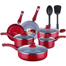 ..// AMERICOOK Non-Stick Ceramic Kitchen Cookware Set, Pots and Pan Set Non-St