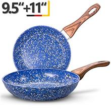 ..// MICHELANGELO Nonstick Frying Pans, Granite Frying Pans with Stone-Derived