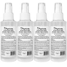 ..// Syncardia System 4-Pack Hand Sanitizer, Four 4oz Spray Pump Bottles with