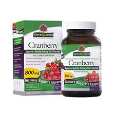 (FROM USA) Nature's Answer Cranberry Fruit Vegetarian Capsules, 90-Count