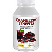 (FROM USA) Andrew Lessman Cranberry Benefits 60 Capsules – Supports Bladder,