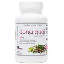 (FROM USA) Dong Quai | 700 mg Extract Capsules | 4:1 Angelica Sinensis Root Po