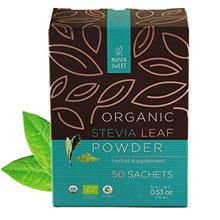 (FROM USA) Organic Stevia Leaf Powder in Sachets, Mayan Sweet