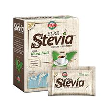(FROM USA) KAL® Sure Stevia™ Extract Powder Plus Monk Fruit (Luo Han) | Bes