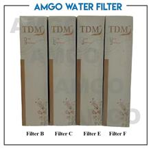 AMGO Diamond Classic Water Filter Cartridge Set (4 Cartridge Set)