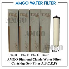 AMGO Diamond Classic Water Filter Cartridge Set (5 Cartridge Set)