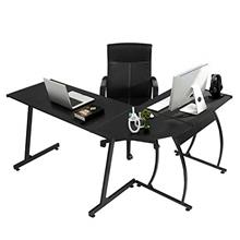 ~ GreenForest L-Shaped Corner Desk Computer Gaming Desk PC Table,Home Office W